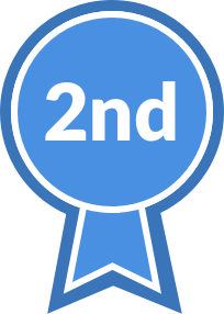Blue Ribbon, second place