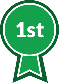 Student Clubs Ribbon, first place