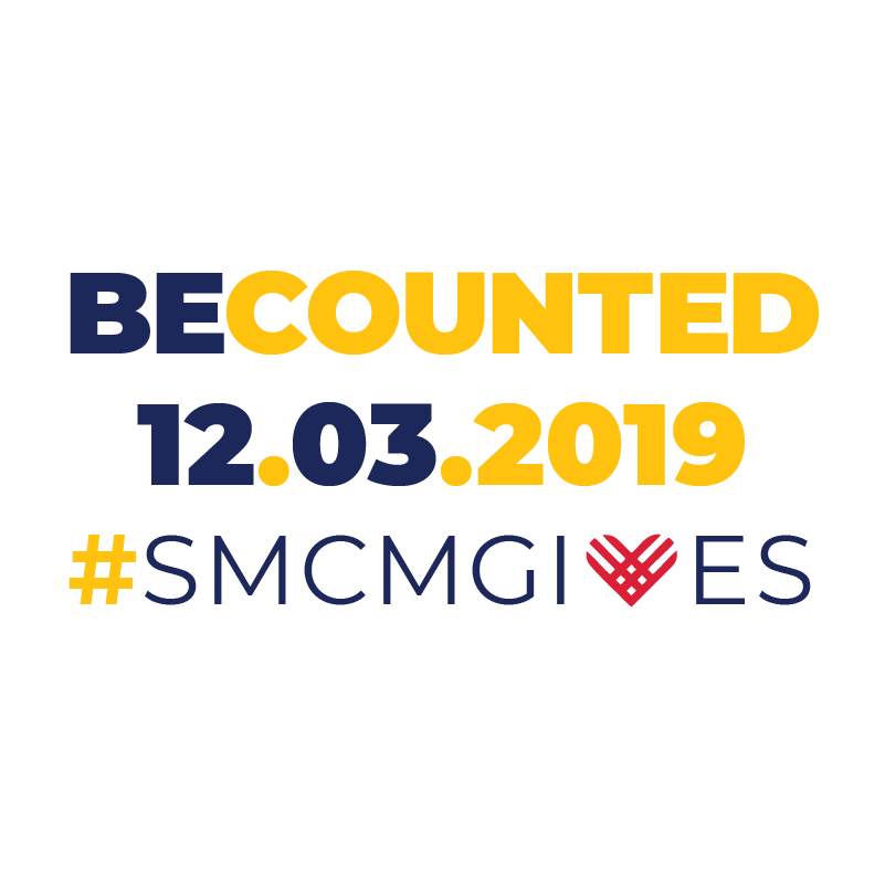 BeCounted 12.03.2019 #smcmgives