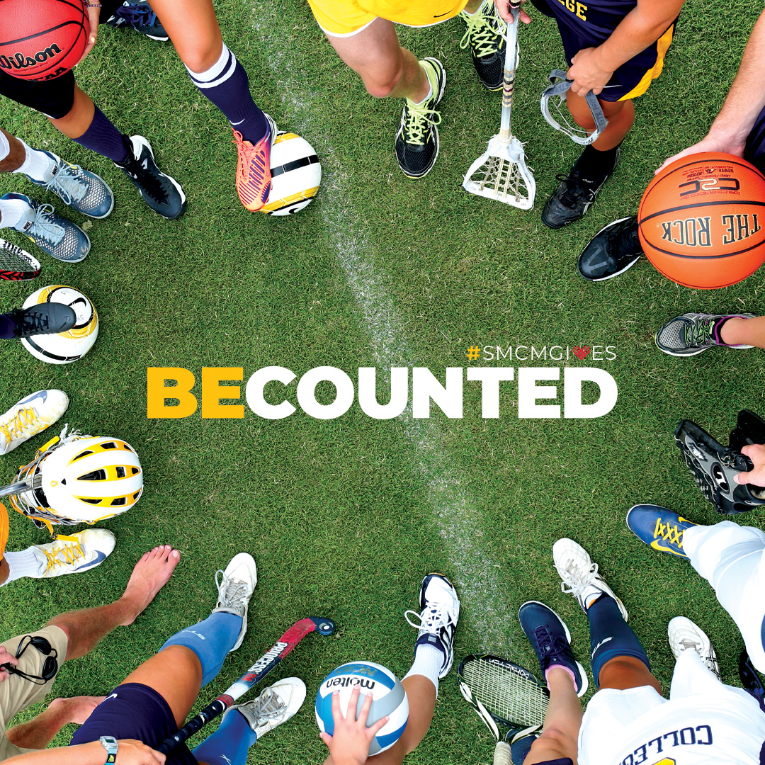 BeCounted #smcmgives Athletics