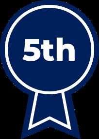 Blue Ribbon 5th Place