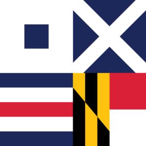 SMCM Nautical Flag Mark
